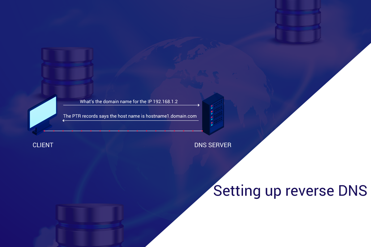 Setting up reverse DNS (rDNS) Without The Help Of Data Center