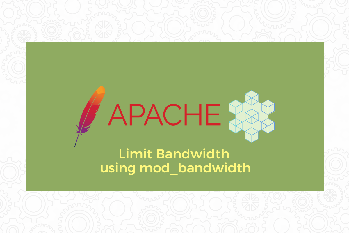Limit Bandwidth using mod_bandwidth module